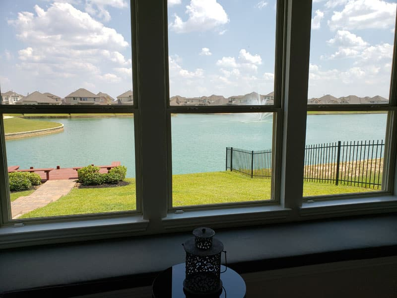 Marcello Lakes Master Bedroom Window View
